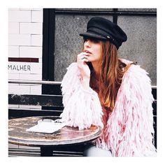 s t y l e  c r u s h  #pink #winter #french #style #love