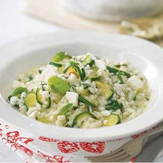 This is a risotto perfect for a summers eve with a crisp, cool bottle of white and the best of company: http://anythinggoeslifestyle.co.uk/in-the-home/recipe-summer-herb-feta-courgette-risotto/ #recipe #seasonalrecipe #seasonalvegetable #risotto #dinner #summer #alfresco