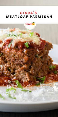 Giada Recipes, Chef Recipes, Meat Recipes, Food Network Recipes, Cooking Recipes, Italian Dinners, Italian Recipes, Beef Recipes For Dinner, Ground Beef Recipes