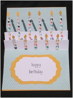 Happy Birthday Pop-Up Card - Think Crafts by CreateForLess