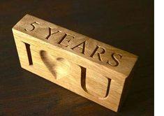 5th anniversary wood theme