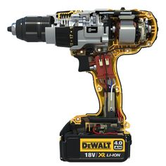 Want to know about cordless drills videos? Engineering Tools, Electronic Engineering, Mechanical Engineering, Dewalt Power Tools, Cordless Power Tools, Cordless Drill Reviews, Cordless Hammer Drill, Carpentry Tools, Woodworking Tools