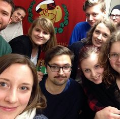 """Step aside, selfies, Sweden's snapping 'wefies'  Selfies are so 2013. Sweden's Social Democratic Youth League is bumping noggins for #wefie2014, a campaign aimed at bringing a sense of """"we"""" to Swedish society by Leslie Katz - February 28, 2014."""