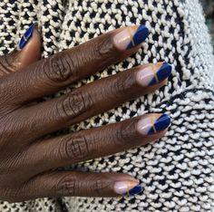 Almond Nails Designs, Black Nail Designs, Winter Nail Designs, Classy Nail Designs, Almond Acrylic Nails, Best Acrylic Nails, Cute Nails, Pretty Nails, Paintbox Nails