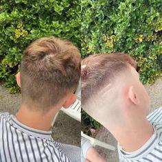 Men's Haircuts, Cool Haircuts, Haircuts For Men, Hairstyles, Fade Haircut, Cute Gay, Barber, Hair Cuts, Christian