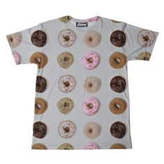 """belovedwear® presents the #Donut Box Tee This """"all over"""" print T-Shirt is made using a special sublimation technique to provide a vivid graphic image throughout"""