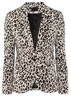 Unique Turndown Collar One Button Leopard Suits for Lady on sale only US$33.56 now, buy cheap Unique Turndown Collar One Button Leopard Suits for Lady at modlily.com