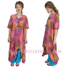 SUNHEART Hi-Low Asym HERA Tunic Top or Dress by SUNHEARTCLOTHING