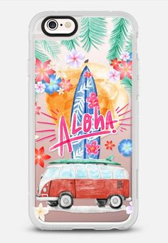 Aloha Hawaii iPhone 6s Case by Sara Eshak | Casetify Canada