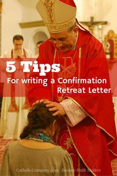 5 Simple Steps for Writing a Confirmation Letter for a Retreatant Confirmation Quotes, Catholic Confirmation Gifts, Confirmation Letter, Catholic Kids, Confirmation Cakes, Letter To Daughter, Letters To My Son, Palanca Letter, Catholic Sacraments