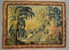 Antique Tapestry cleaned and restored