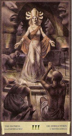 The Empress - Dark Grimoire Tarot