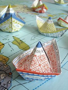 Kids would love making these while learning about geography!