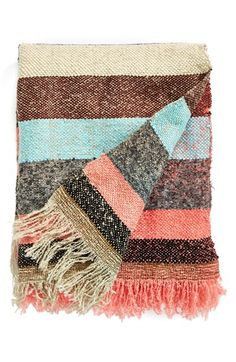PERFECT COLORS Nordstrom at Home 'By The Fire' Throw available at #Nordstrom
