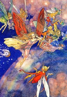 Fairies Basket of Stars by Helen Mary Jacobs