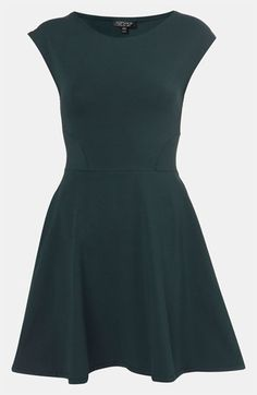 Topshop Skater Dress available at #Nordstrom