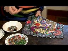 Textile Techniques - Textile crafts with textile artist Marilyn Pipe - Jamie Malden - YouTube