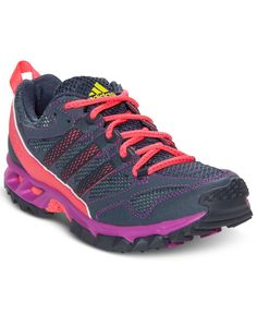 adidas Women's Kanadia 5 Trail Running Sneakers from Finish Line