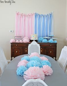 gender reveal party ideas | ll warn you: this post is photo heavy. So get your scrolling ...