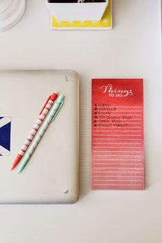 A Tour of My Blogger Desk