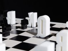 type(chess)set by Hat trick Design Photo  This almost makes me want to play chess