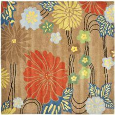 Safavieh Soho Collection SOH738A Handmade Brown New Zealand Wool Square Area Rug, 6-Feet Safavieh http://www.amazon.com/dp/B0051HEBVG/ref=cm_sw_r_pi_dp_.XDLtb0MPX9R732J