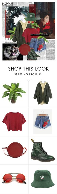 """power of words...."" by ani-onni ❤ liked on Polyvore featuring Nearly Natural, American Eagle Outfitters, Diane Von Furstenberg, Dr. Martens and ZeroUV"