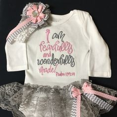 I Am Fearfully and Wonderfully Made Outfit