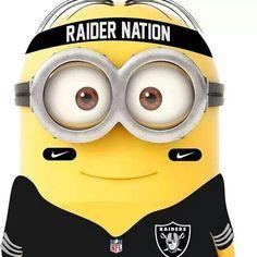 Love my Raiders and I love my Miolnions Oakland Raiders Funny, Okland Raiders, Raiders Stuff, Raiders Girl, Oakland Raiders Football, Best Football Team, Football Memes, Nfl Football, Raider Nation