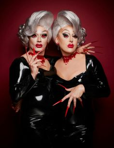 The Boulet Brothers, Swanthula Boulet and Dracmorda Boulet - Drag artists, club promoters and business people