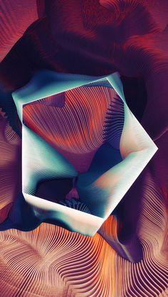 freeios8.com - ar77-polygon-plums-ari-weinkle-art-illustration-pattern-purple - http://bit.ly/2la7mQE - iPhone, iPad, iOS8, Parallax wallpapers