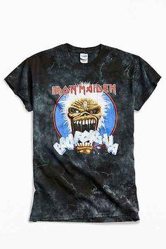 c6bd43fa40 Iron Maiden Dyed Metal Tee Iron Maiden