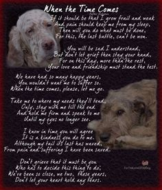 Canine Advocacy - I dedicate this to all those of you, who, with pain in your heart and knowing the grief to come, ga - I Love Dogs, Puppy Love, Pet Poems, Animals And Pets, Cute Animals, Pet Loss Grief, Pet Remembrance, Dog Memorial, Pet Memorials