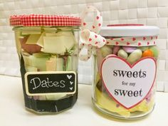 Emsypickle's adorable Valentine's Day Jam J-Art! A perfect treat for someone special - we love it. My Jam, Jam Jar, Printed Ribbon, Valentine's Day Diy, Cute Gifts, Valentines Day, Sweet Treats, Arts And Crafts, Sweets