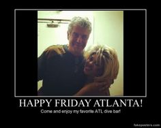 Trust Anthony Bourdain and get down to the Clermont Lounge tonight! Dive Bar, Happy Friday, Atlanta, Trust, Lounge, Airport Lounge, Drawing Rooms, Lounges, Lounge Music