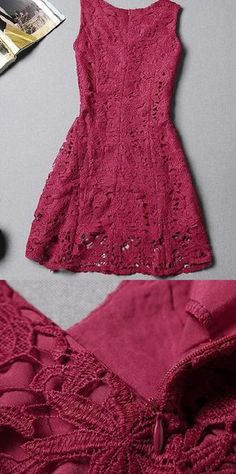 Lace Homecoming Dresses, Red A-line/Princess Homecoming Dresses, Short Red Homecoming Dresses, 2017 Homecoming Dress Sexy Red Lace Short Prom Dress Party Dress Short Red Prom Dresses, Red Lace Prom Dress, Homecoming Dresses 2017, A Line Prom Dresses, Cheap Prom Dresses, Prom Party Dresses, Short Prom, Lace Dresses, Dress Red