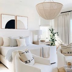 All Details You Need to Know About Home Decoration - Modern Design Living Room, Living Spaces, Room Design Bedroom, Coastal Bedrooms, Coastal Master Bedroom, Serene Bedroom, Home Bedroom, Calm Bedroom, Master Bedrooms