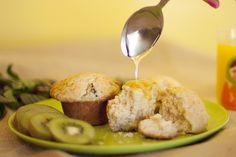Kiwi & Yogurt Muffins on ModCloth Blog