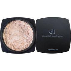 e.l.f. High Definition Powder, Shimmer, 0.42 oz, Multicolor
