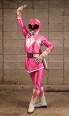 Power Rangers Cosplay, Power Rangers Comic, Pink Power Rangers, Film 2017, Pink Costume, Mighty Morphin Power Rangers, Bruno Mars, Kamen Rider, Super Powers