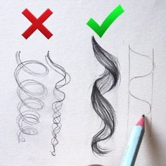 Likes, 627 Comments - Aaria Baidhow to draw curled hairollow us Lisa Cohen!Wonderful tutorial By . Observe us for extra artwork.Top Tips, Tricks, And Techniques For That Perfect drawing tips Pencil Art Drawings, Art Drawings Sketches, Cool Drawings, Hair Drawings, Amazing Drawings, Curly Hair Drawing, Drawing Techniques, Drawing Tips, Drawing Hair Tutorial