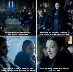 She is the best! The North remembers!!