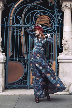 Louise Ebel of Miss Pandora  » Art Nouveau Revival - Photo Fanny Dussol (février 2016)