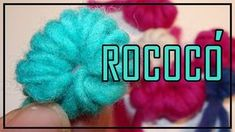 Tutorial ROCOCÓ (TELAR ÁRBOL, Decorativo, Tapicería) paso a paso LANA TERAPIA. WOOL THERAPY - YouTube