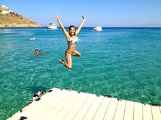 Mykonos Beach and Party Guide - The Blonde Abroad