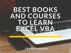 Best Books and Courses to Learn Excel VBA - Mad About Excel