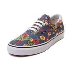 Shop for Vans Era 59 Skate Shoe in Navy Floral at Journeys Shoes.