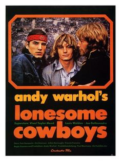 Andy Warhol's film Lonesome Cowboys (1968)