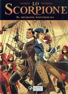 Lo Scorpione - Volume 4 - Il Demone PontificioItalian | CBR | 50 pages | 110 MB