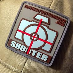 Tactical Photographer Patch